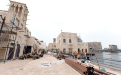 «مرسى السيف».. وجهة مائية عصرية تحاكي حياة دبي في الخمسينات