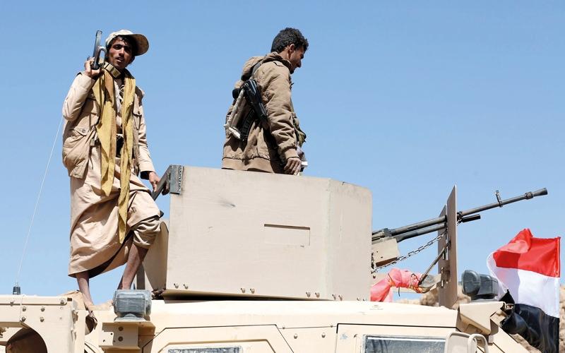 الجيش اليمني يحرر «جبل النار» ويقترب من «معسكر خالد»