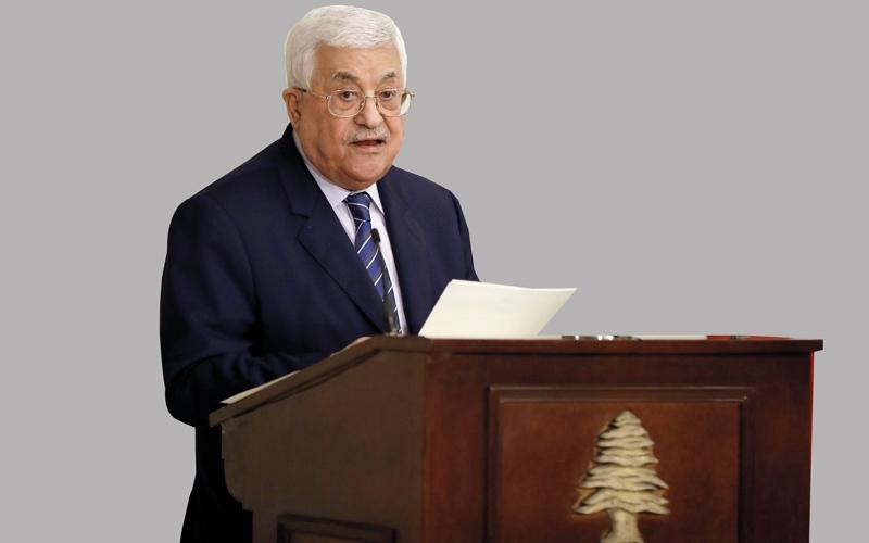 عباس: لبنان تحمّل الكثير من أجل القضية الفلسطينية