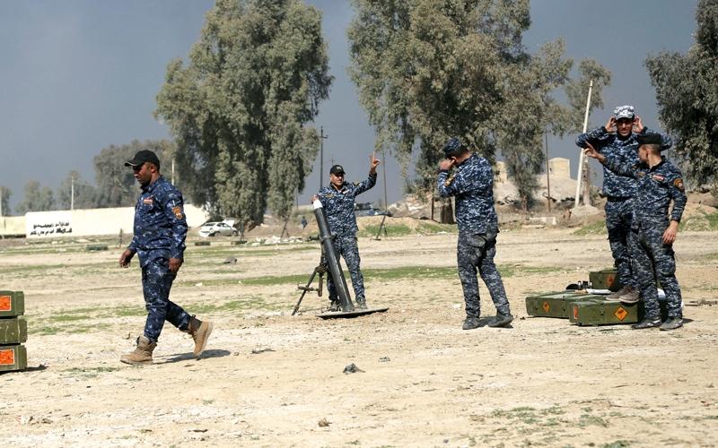 القوات العراقية تدخل أول أحياء   الجانب الغربي للموصل