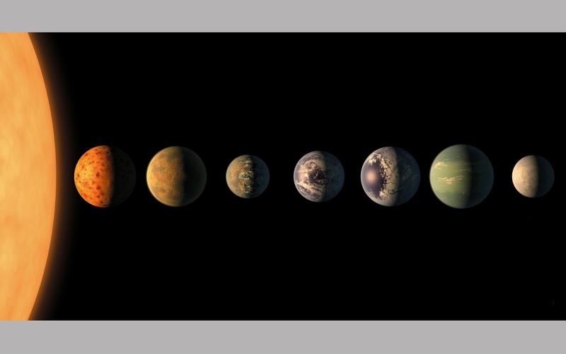 اكتشاف 7 كواكب جديدة تبشّر بـــوجود حياة
