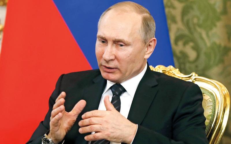 رسائل الحب للرئيس الأميركي تتبخر من على صفحات الإعلام الروسي