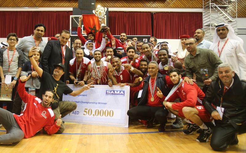 «سلا» يهدي المغرب أول لقب في «سلة دبي» - الإمارات اليوم