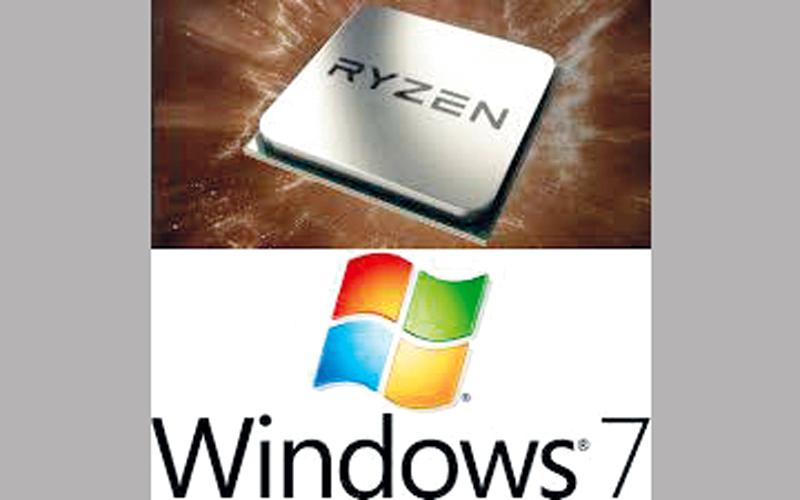 تقرير: معالجات Ryzen الجديدة لا تدعم «ويندوز 7» - الإمارات اليوم
