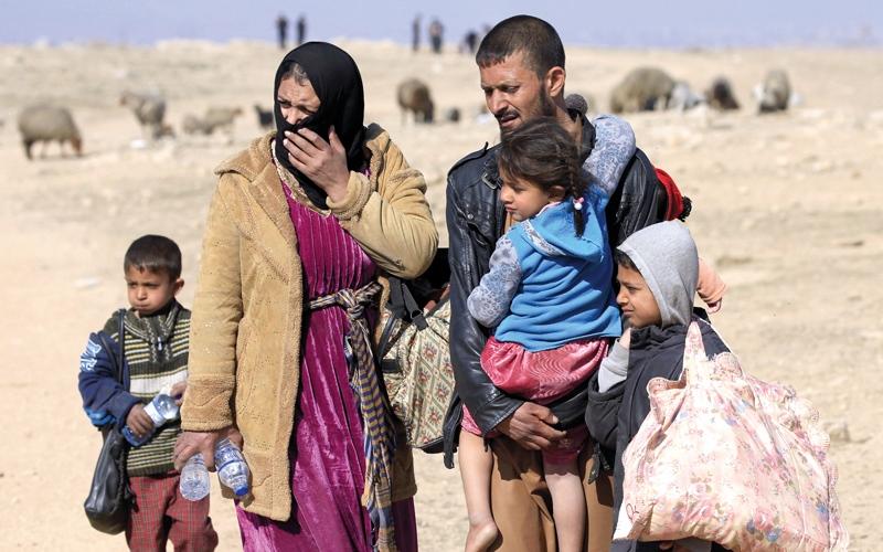 قلق دولي على مصير السكان المحاصرين غرب الموصل
