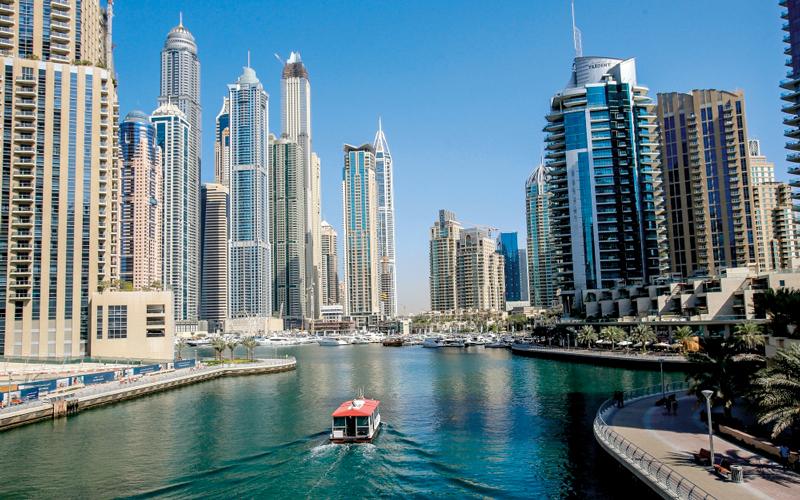 سوق التأجير العقاري في دبي قوية جداً لاسيما في المناطق الجديدة. أرشيفية