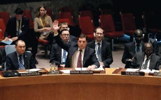 فيتو روسي ـ صيني على مشروع قرار يفرض عقوبات على سورية