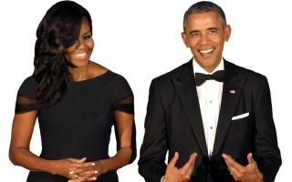 60 مليون دولار قيمة حقوق مذكرات باراك أوباما وزوجته