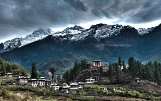"""الصورة: """"مملكة البوتان"""" ..الدولة التى لايعرف شعبها الحزن"""
