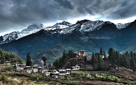 """""""مملكة البوتان"""" ..الدولة التى لايعرف شعبها الحزن"""