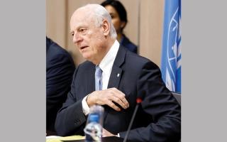 اختتام مفاوضات جنيف حول سورية بلا اتفاق