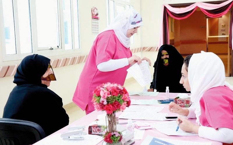 «القافلة الوردية» قدمت فحوصاً مجانية لـ41 ألف شخص في الدولة
