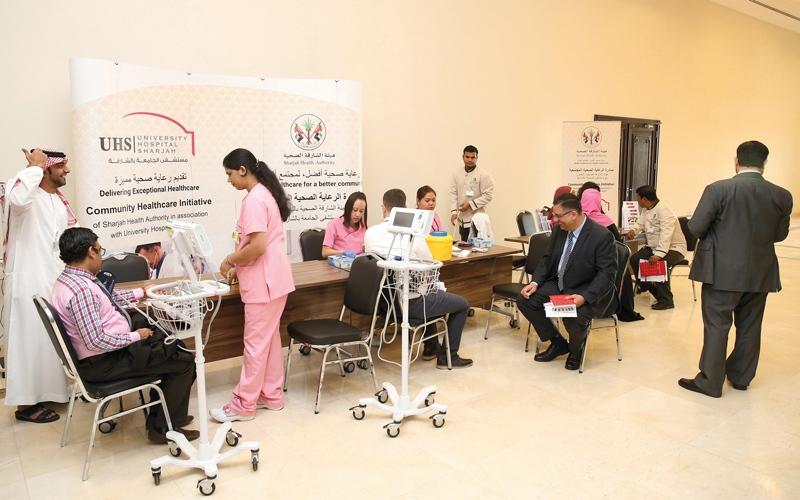 فحوص طبية مجانية  لـ 2000 شخص