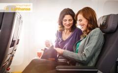"""الصورة: """"لوفتهانزا"""" تطلق الدرجة السياحية الممتازة على متن طائراتها"""