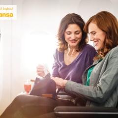 """""""لوفتهانزا"""" تطلق الدرجة السياحية الممتازة على متن طائراتها"""