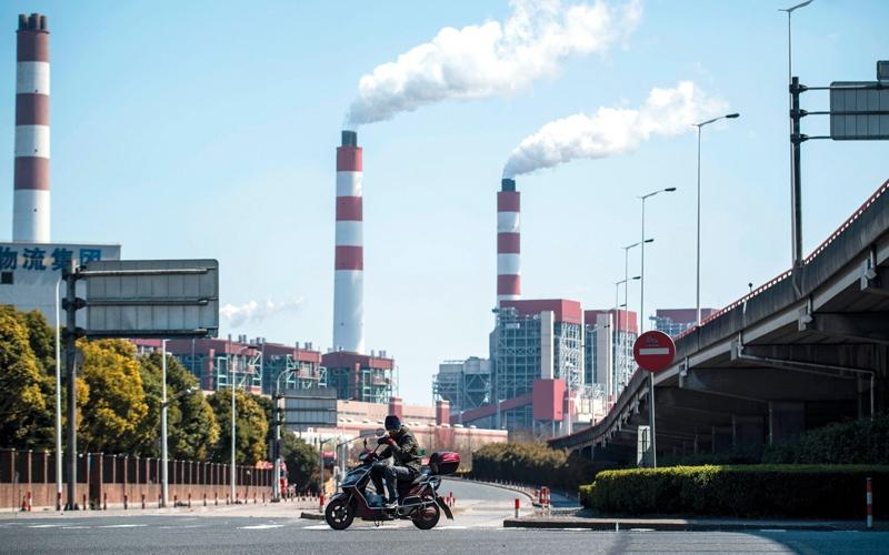 هواء ملوث