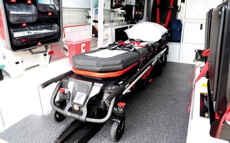 نقالة إسعاف «ذكية جداً» في دبي