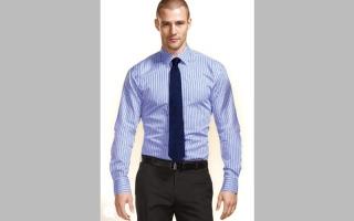 الصورة: قمصان لا تناسب بعض الرجال