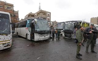 46 قتيلاً معظمهم عراقيون بتفجيرين   في دمشق القديمة