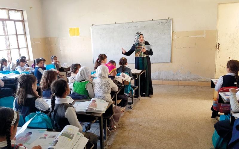 غياب الأمن وتردّد الأهالي يعرقلان استئناف عمل المدارس شرق الموصل