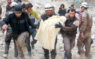 32 قتيلاً بتفجير انتحاري في دمشق
