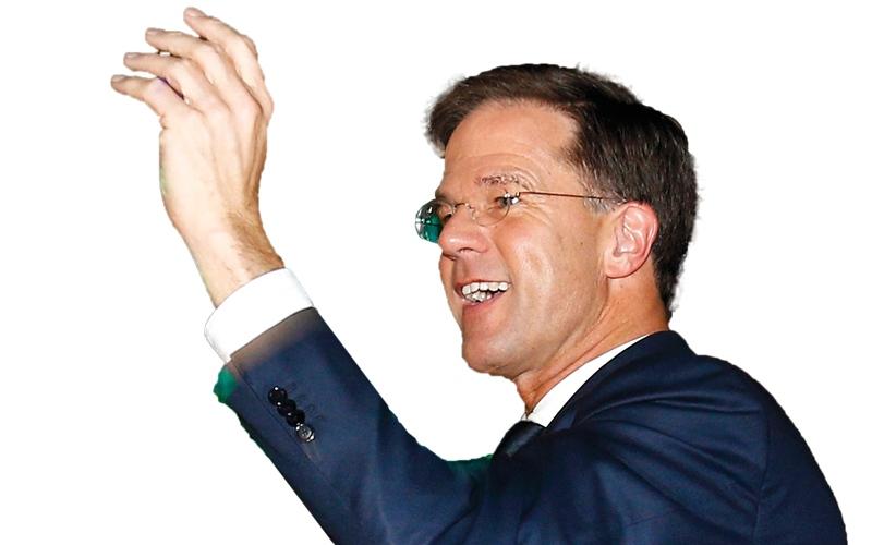 رئيس وزراء هولندا يشيد بالانتصار «على الشعبوية»