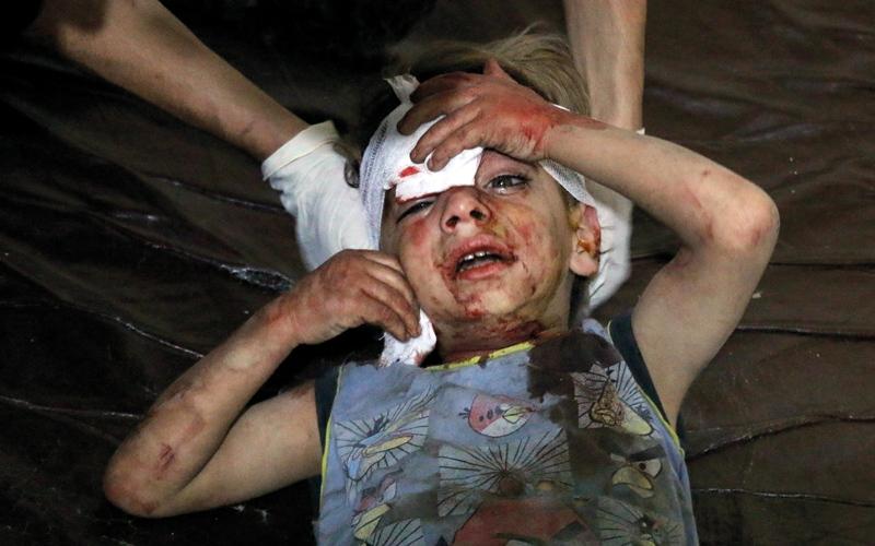 الأطفال في سورية يتعرّضون للهجمات بوتيرة  غير مسبوقة
