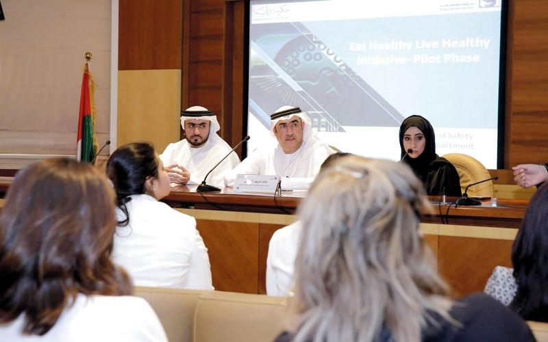 إلزام المؤسسات الغذائية في دبي  بـ «صحتك في غذائك» نهاية العام الجاري