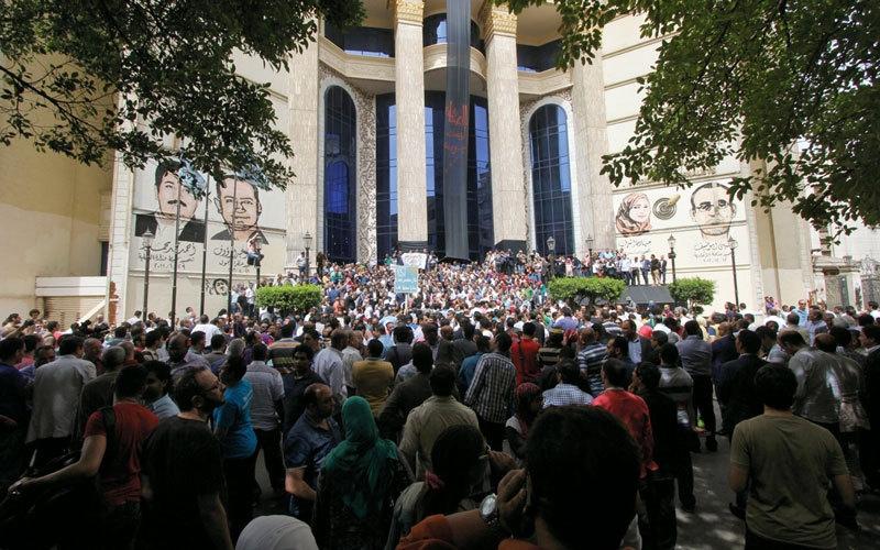 سلوك تصويتي يحيّر المحللين فـي انتخابات نقابة الصحافيين المصريين
