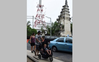 زلزال في بالي  يثير ذعر السيّاح