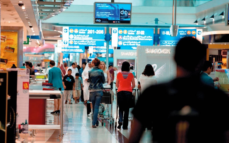 1.1 مليون مسافر متوقع عبر مطار دبي خلال 4 أيام