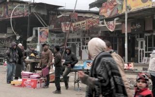 قليل من الموسيقى و«السعادة» شرق الموصل المدمّر