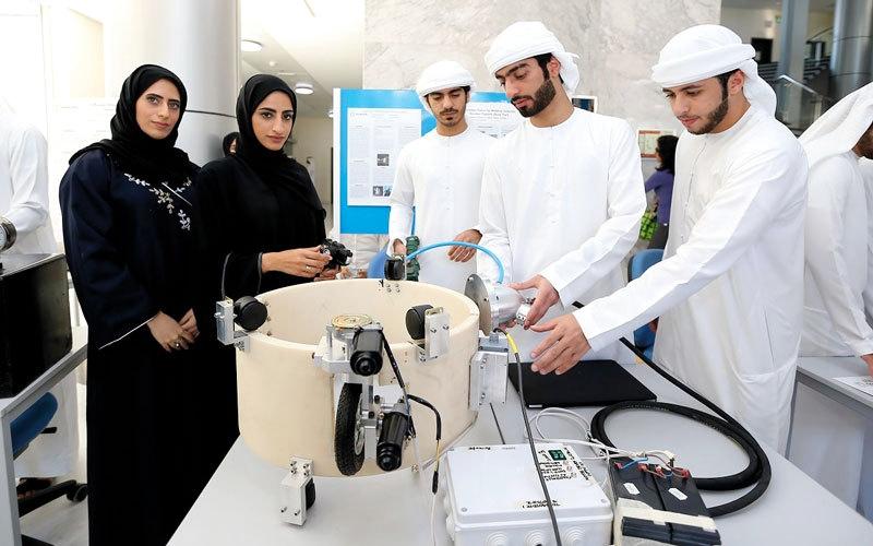 «خليفة للابتكار» يحوّل اختراعات الطلبة  إلى مشروعات استثمارية