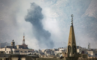 المعارضة تهاجم بلدة قمحانة بريف حماة