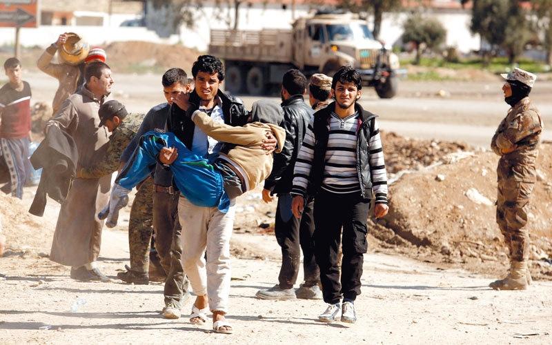 القوات العراقية تعلّق هجوم الموصل