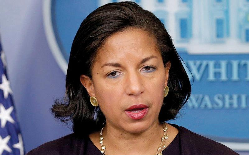 سوزان رايس: يجب أن يكون أصدقاؤنا قادرين على الثقة بالولايات المتحدة.  غيتي