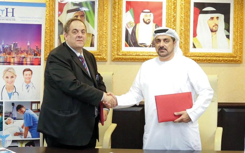 «إسعاف دبي» توقّع اتفاقية تعاون مع «الصحة الأميركية»