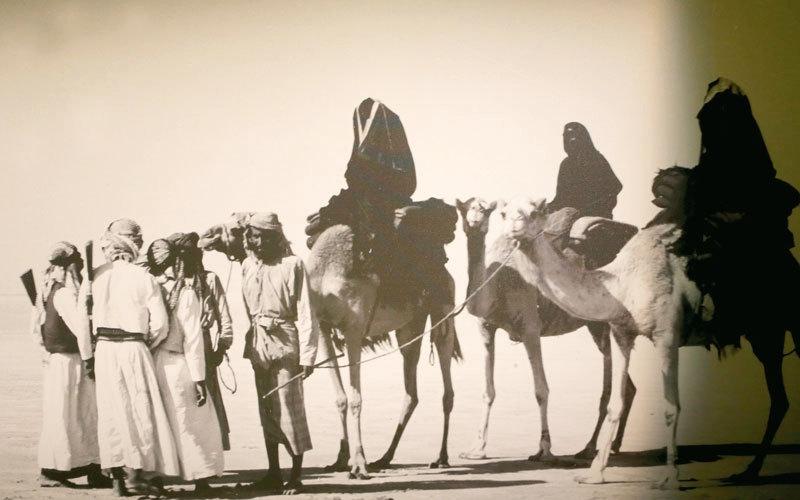 «جناح أم الإمارات».. يتصفح تاريخ المرأة الإماراتية