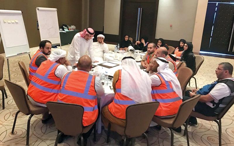 «إسعاف دبي» تجمع المبادرات الخلاقة بـ «بركة الأفكار»