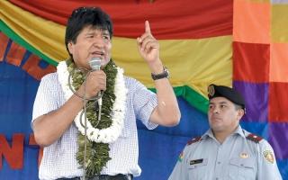 الرئيسان الأرجنتيني   والبوليفي يدعمان «ميسي» في محنته