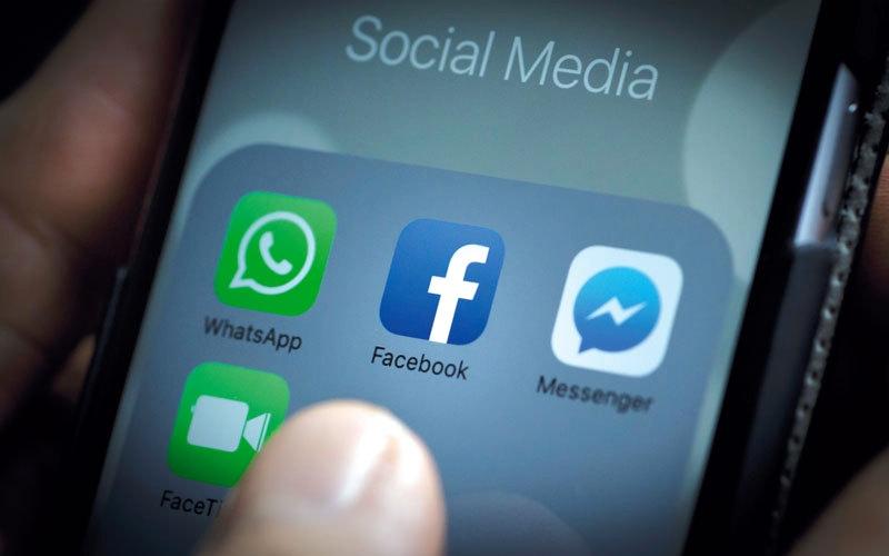 الصورة: «فيس بوك» توقف دعم مجموعة من الأجهزة المحمولة