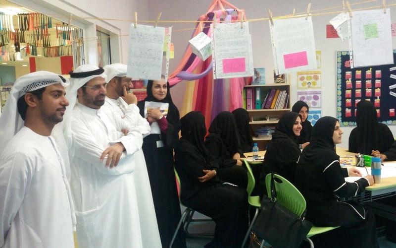 20 ساعة تطوير مهني لمعلمي مدارس أبوظبي الحكومية