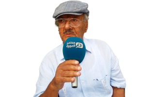 رحيل شاعر المقاومة الشعبية ضد إسرائيل كابتن غزالي