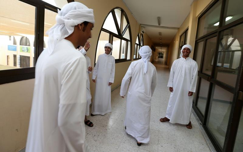 95 % نسبة حضور طلبة أبوظبي ودبي في اليوم الدراسي الأول
