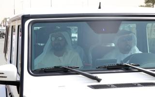 محمد بن راشد يشهد مهرجان «ختامي المرموم»
