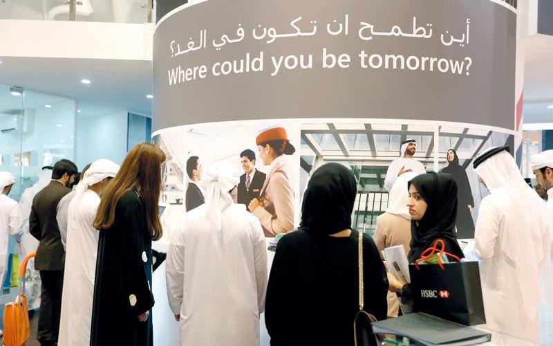 التجارة والخدمات الإلكترونية والسياحة والصحة والطيران والقطاع المالي الأكثر قدرة على جذب الباحثين عن عمل.  أرشيفية