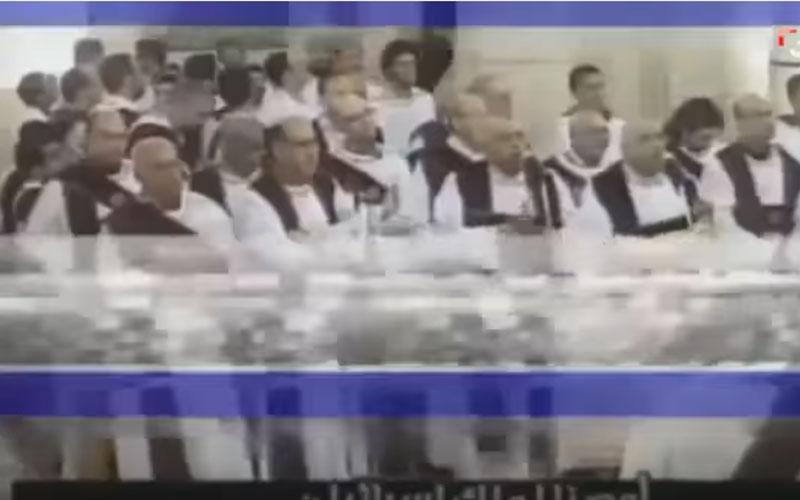 الصورة: بالفيديو.. لحظة وقوع الانفجار في كنيسة مار جرجس بطنطا