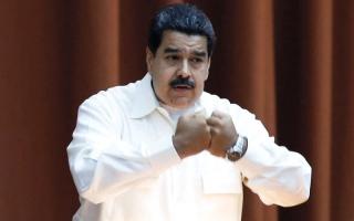 رشْق رئيس فنزويلا بالبيض والحجارة