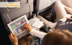 """الصورة: """"لوفتهانزا"""" توفر مجموعة من الخيارات للقراءة الرقمية فوق السحاب"""
