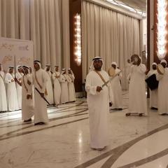 """بالفيديو.. """"عرس الخير"""" نظمته """"الإمارات اليوم"""" و""""الحبتور الخيرية"""" لـ 50 شاباً من محدودي الدخل"""